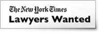 Lawyers Wanted: The New York Times
