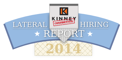 2014 Lateral Hiring Report: Law Firm Associates   Kinney Recruiting